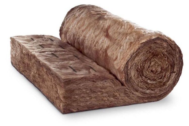Enviromental chocolate fiber glass wool blanket