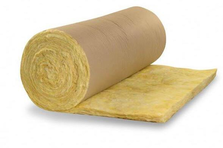 Fiber glass wool kraft paper covering
