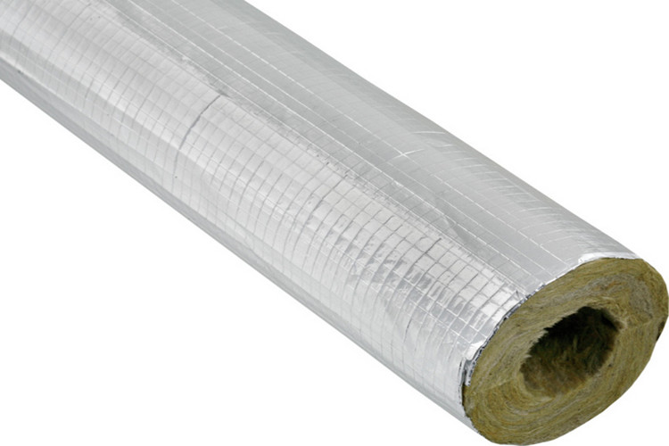 Coning Rock Wool Pipe Is Widely Used In Pipe Insulation