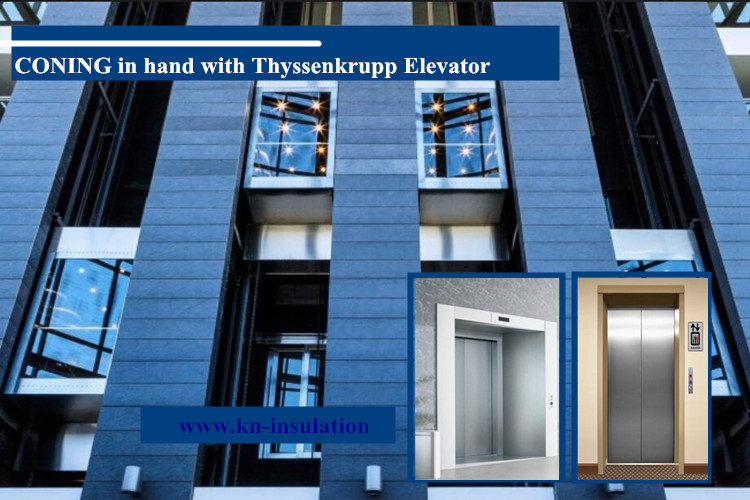 CONING in hand with Thyssenkrupp Elevator