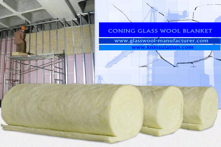CONING glass wool insulation installation instrcution